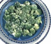 Brocolli with butter sauce