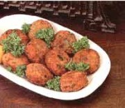 Fried fish roe balls