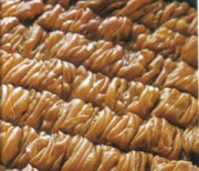Walnut pie from Lesvos