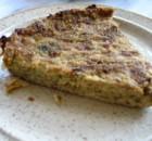 Zucchini pie with no filo