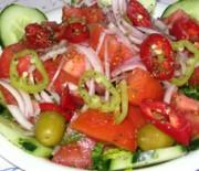 Mixed summer salad