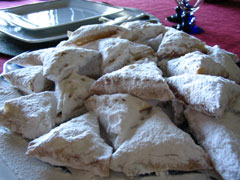 Sweet Almond triangles