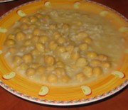 Chick pea soup from Thebes
