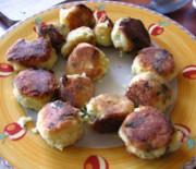 Potato balls from Lesvos