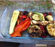 Charcoaled vegetables
