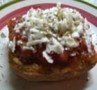 Cretan rusk with tomato oregano and cheese Demo