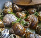 Fried snails from Crete
