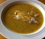 Light calorie fish soup